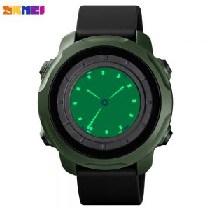 SKMEI Creative Dual Time Model Men Digital Watch Waterproof Stopwatch Alarm Sport Wristwatch Male Clock Relogio Masculino 1571