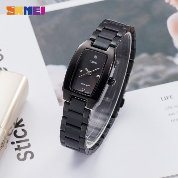 SKMEI Japan Quartz movement Ladies Female Girl Watch Luxury Diamond Dial Dress Clock Women Watches reloj mujer Montre femme