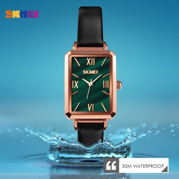 SKMEI Simple Women Watches Creative Romantic Square Female Wristwatch Top Brand Ladies Quartz Watch Relogio Feminino Clock 1706