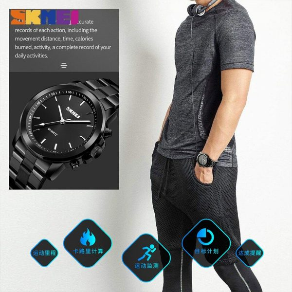 SKMEI Pedometer Sleep Tracker Calories Sport Watches Men Quartz Digital Watch Waterproof Male Wristwatch Relogio Masculino 1324