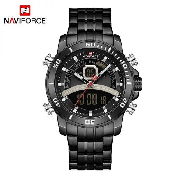 NAVIFORCE Fashion Watches Mens Analog Digital Military Sports Quartz Wristwatch Waterproof Luxury Clock Male Relogios Masculino