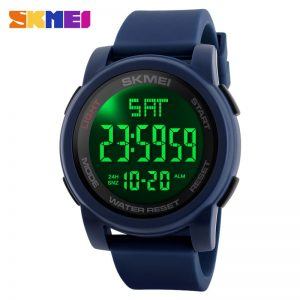 2020 SKMEI Outdoor Men LED Digital Watch 5Bar Waterproof Male Wristwatch Military Sport Watches Clock Relojes para hombre 1257