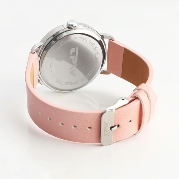 PINK watch for girl simple style women watches casual quartz wristwatches drop shipping woman clock montre femme chic