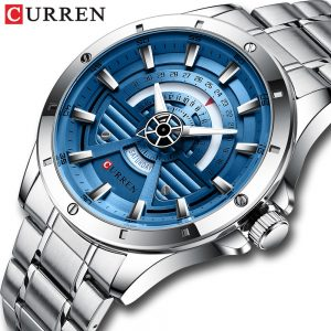 CURREN Sport Watches Men Quartz Stainless Steel Clock Watch For Men Top Quality Luxury Brand Male Watchs Bussiness Dial relogio