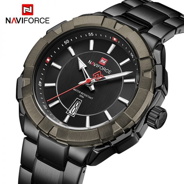 NAVIFORCE Watches Mens Luxury Military Sport Quartz Wrist watch Stainless Steel Waterproof Casual Clock Male Relogio Masculino