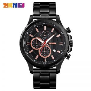 SKMEI Simple Men watches Casual Business Quartz Wrist Watch Date Stopwatch Male Clock top brand luxury Relogio Masculino 1551