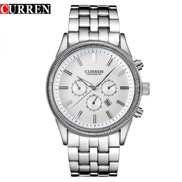 CURREN 8058 Business Style Watches Men Fashion Casual Brand Waterproof Wristwatch For Men Calendar Promotion For Dropshipping
