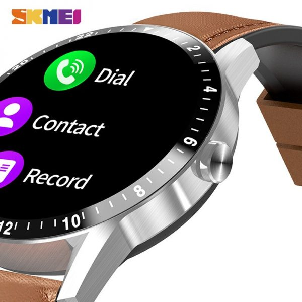 SKMEI Smart Watches Blood oxygen Heart Rate Monitor Phone Call Play Music Fitness Tracker Smartwatch For xiaomi iPhone huawei