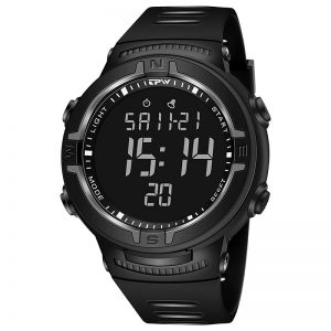 Digital Watches Sport 3ATM Waterproof StopWatch Hourly Reminder Calendar LED Blacklight