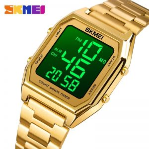 SKMEI LED Light Electronic Wristwatches Man Chronograph Count Down Timer Clock Waterproof Sport Men Watch Relogio Masculino 1735