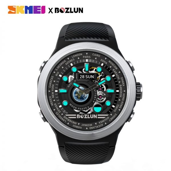 SKMEI LED Display Men Digital Watch Calories Heart Rate Monitor Steps Sport Watches Montre Homme Relogio Masculino W31 Clock