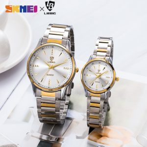 2020 Waterproof Men Women Quartz Watches Luxury Stainless Steel Bracelet Wristwatches Female Male Clock relogio masculino L1016