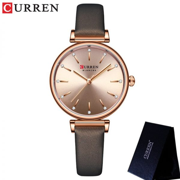 CURREN Top Brand Luxury Blue Female Women Watch Waterproof Clock Stainless Steel Bracelet Fashion Simple Ladies Wristwatch 9081