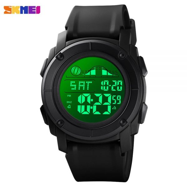 SKMEI Relogio Masculino 1576 Sport LED Light Electronic Man Clcok Calendar Stopwatch Alarm Countdown Wrist Watches For Men