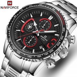 Relogio Masculino NAVIFORCE New Watches Men Luxury Brand Chronograph Men's Sports Watches Waterproof Full Steel Quartz Clock