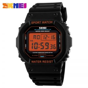 SKMEI Digital Men's Watches Chrono Alarm Calendar Sport Wrist Watch 5Bar Waterproof Male Electronic Clock relogio masculino 1134