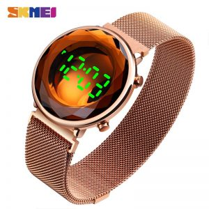 SKMEI Creative Clock LED Light Men Sports Watches Waterproof Calendar Male Digital Wristwatches Relogio Masculino 2020 New 1640