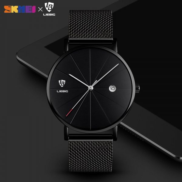 2020 SKMEI Fashion Waterproof Men Wristwatches Business Casual Quartz Watches Relogio Masculino Relojes Para hombre L1004