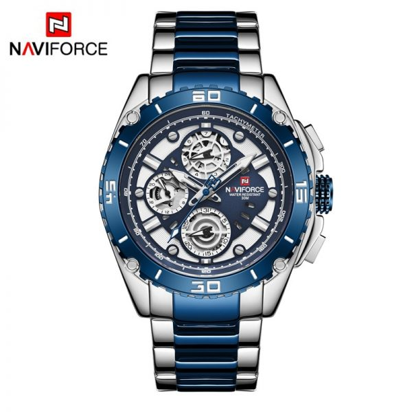 NAVIFORCE Luxury Mens Watches Waterproof Clock Fashion Multi-function Quartz Wristwatch Male Creative Sport Watch Reloj Hombre