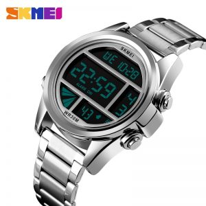 SKMEI 1448 reloj hombre Fashion Back Light Male Sport Watches Stopwatch Calendar Waterproof Digital Clock Men's watch 6 Color