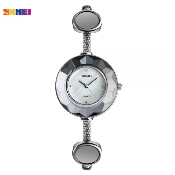 SKMEI Fashion Small Dial Women Quartz Watch Personality Slim Steel Straps Waterproof Ladies Wristwatch Relogio Feminino 1406