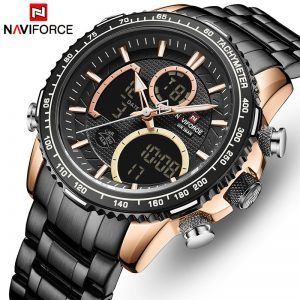 NAVIFORCE Top Brand Luxury Men Watches Quartz Watch Men Military Fashion Chronograph Sports Wristwatch Clock Relogio Masculino