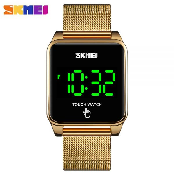 SKMEI Waterproof Male Wristwatch LED Touch Screen Men Digital Watches 2020 Top Brand Luxury Men's Clock Relojes Para Hombre 1532