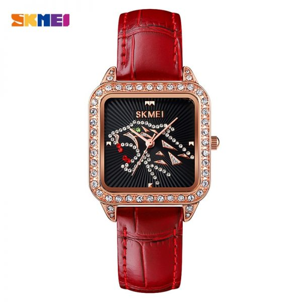 SKMEI Top Brand Design Unique Ladies Female Wrist Watch Japan Quartz Movement Women Watches Relogio Feminino montre femme 1768