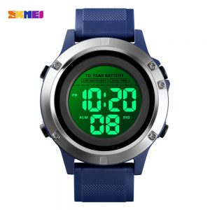 SKMEI Creative super life Battery Sports Watch LED Display Digital Clock Stopwatch Alarm Men's Watches Relogio Masculino 1518