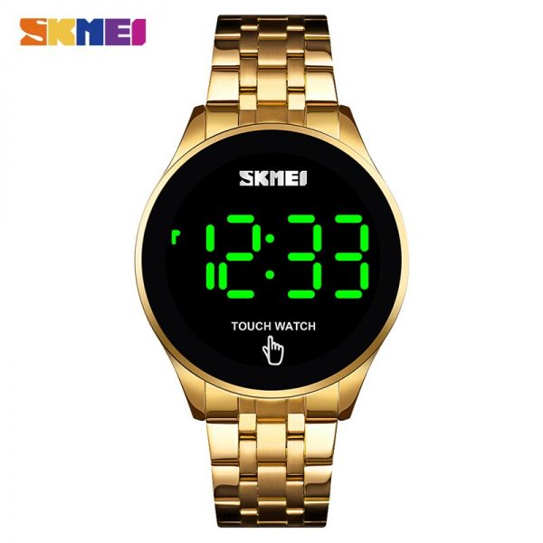 SKMEI Casual Men Digital Watch Creative LED Touch Screen Clock Waterproof Male Wristwatches Relógio de homem Montre homme 1579