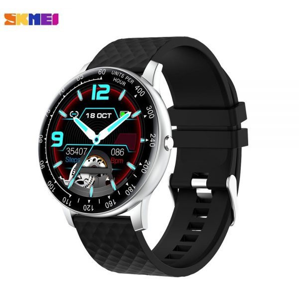 Top Brand SKMEI Men's Watches Blood Pressure oxygen Heart Rate Monitor Bluetooth Music Digital Watch Relogio Masculino H30 Clock