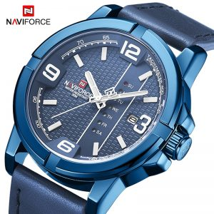 NAVIFORCE Mens Watches Men Fashion Casual Quartz Wrist watch Military Waterproof Day and Date Display Clock Relogio Masculino
