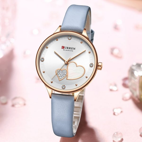 2020 New Ladies Watch Luxury Fashion CURREN Creative 3D Women wrist watches Casual Dress Crystal Clock Relogio Feminino 9077