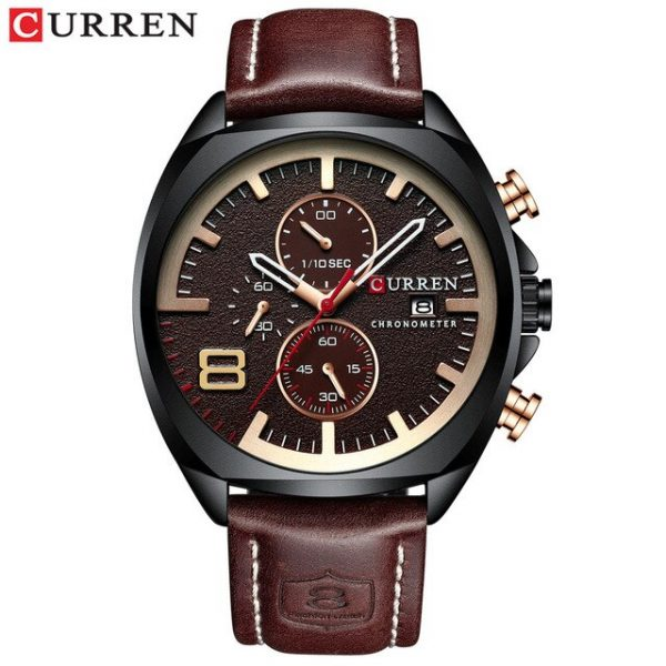 NEW Men Watches Top Brand Luxury CURREN Military Analog Quartz Watch Men's Sport Wristwatch Relogio Masculino Waterproof 8324
