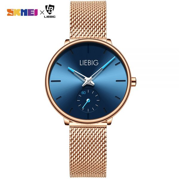 Simple Women Quartz Watch Top Brand Luxury Waterproof Wristwatches Lady Watch Full Steel Female Clock Relogio Feminino L4001