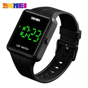 SKMEI LED Digital Watch Date Time 3Bar Waterproof Wristwatch Men Women Sports Watches Montre Femme Relogio Masculino 1541 Clock