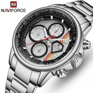 NAVIFORCE Mens Watches Top Brand Luxury Business Fashion Quartz Watch Men Casual Waterproof Clock Sports Relogio Masculino