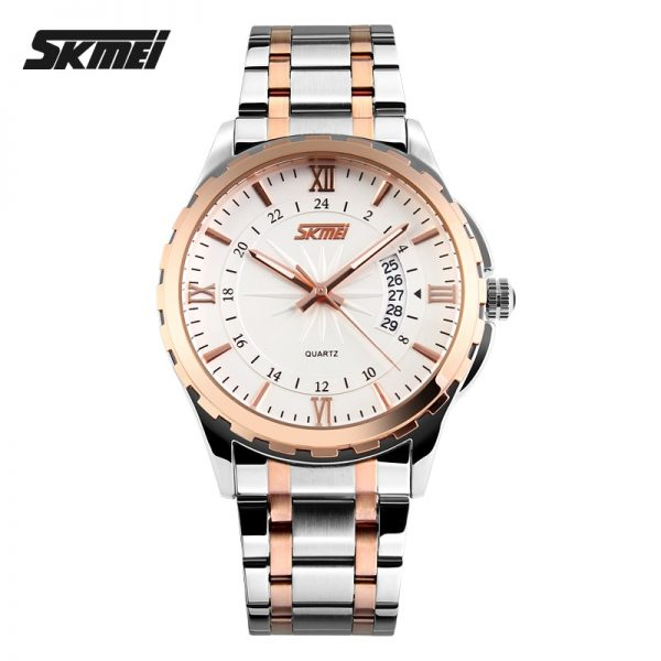 2020 SKMEI Luxury Top Brand Male Wristwatches Men Quartz Watch Calendar Time 30M Waterproof Sport Watches Relogio Masculino 9069