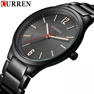 CURREN 8280 Mens Watches Waterproof Top Brand Luxury Stainless Steel Band Sport Business Military Male Clock Relogio Masculino