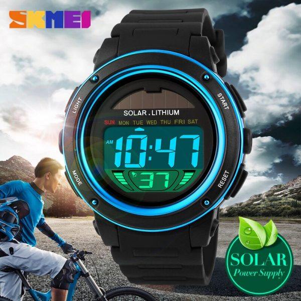 SKMEI Men Sport Watch Man Fashion Clock Digital Watch Top Brand Outdoor Male Wristwatches Reloj Hombre Relogio Masculino 1096