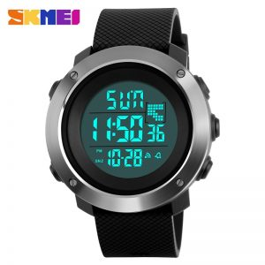 SKMEI Men Digital Watch 3 Times Countdown 5Bar Waterproof Wristwatch Men's Sport Wateches Relogio Masculino 1267 1268 Clock