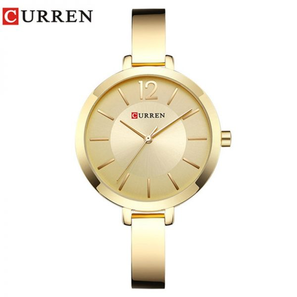 CURREN New Creative Design Quartz Watch Women Casual Fashion Stylish Ladies Gift Wrist Watch Vintage Timepieces relogio feminino