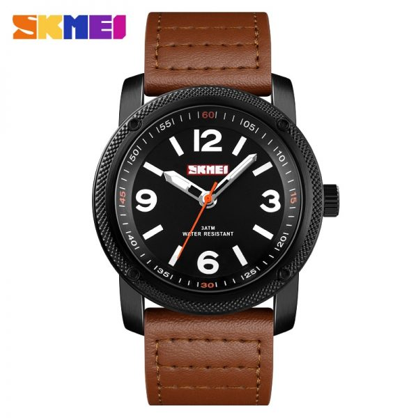 SKMEI Japan Quartz movement Casual Business Men's Watches Top Brand Male Wrist Watch Waterproof Clock Relogio Masculino 1417
