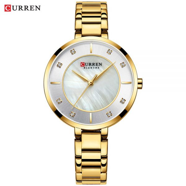 Curren Women Watches Luxury Brand Watch Bracelet Waterproof Ladies Wrist Watches For Women Quartz Clock Crystal Rhinestone Quart