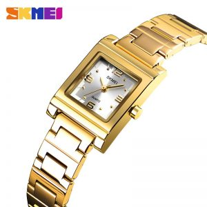 SKMEI Ladies Watch Women Quartz Watches Top Brand Luxury Crystal Female Wristwatch Girl Clock Relogio Feminino Reloj mujer 1388