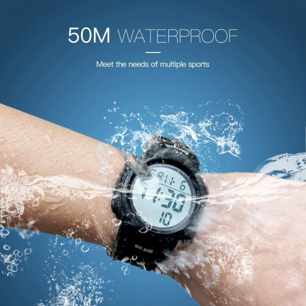 SKMEI Men Sports Watches Chronos Countdown Men's Watch Waterproof LED Digital Watch Man Electronic Clock Relogio Masculino 1068
