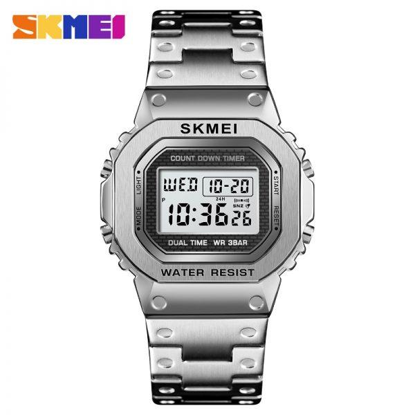 SKMEI Japan Digital movement Men Watch Calendar Stopwatch Sport Watches Clock Male Electronic Wristwatch Relogio Masculino 1456