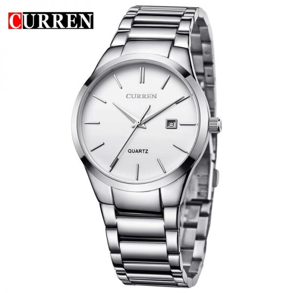 Men Watch CURREN 2020 Top Luxury Brand Men Analog sports Quartz Wristwatch Business Date Display clock relogio masculino 8106