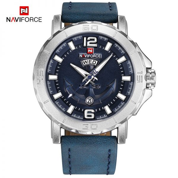 NAVIFORCE Men Watches Analog Date Clock Quartz Watch Men Army Military Wristwatch Luxury Brand Men Sport Wristwatches Relogio
