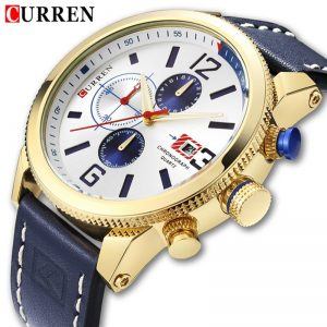CURREN Luxury Men Quartz Watches Men's Multifunction Waterproof Watch Man Casual Sport Chronograph Wristwatch Relogio Masculino